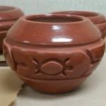 Carved polished bowl