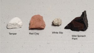 Materials for pottery making