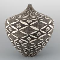 Victorino. Sandra  – Jar with Butterfly Swirls