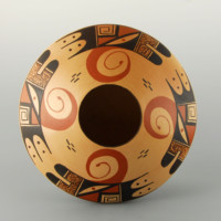 Setalla, Dee – Wide Bowl with Bird Patterns