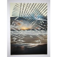 "Sense, Sarah – ""Weaving Water 25"" Woven Photographs"