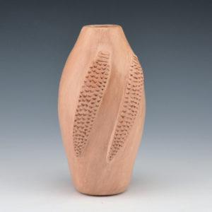 White, Elizabeth – Mauve Jar with Double Corn (1970's)