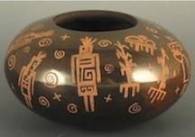 Bowl w Petroglyphs A