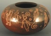 Bowl w Petroglyphs B