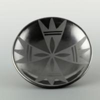 Martinez, Maria  – Plate with Prayer Feather Design