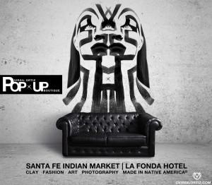 Viirgil Ortiz Pop Up Boutique | Santa Fe Indian Market