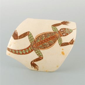 Begaye, Nathan – Tile with Polychrome Lizard