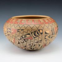 Huma, Rondina – Large Bowl with Geometric Patterns