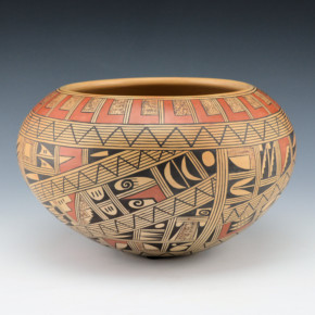 Huma, Rondina – Large Bowl with Geometric Patterns
