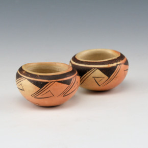 Nampeyo, Rachel – Pair of Small Bowls