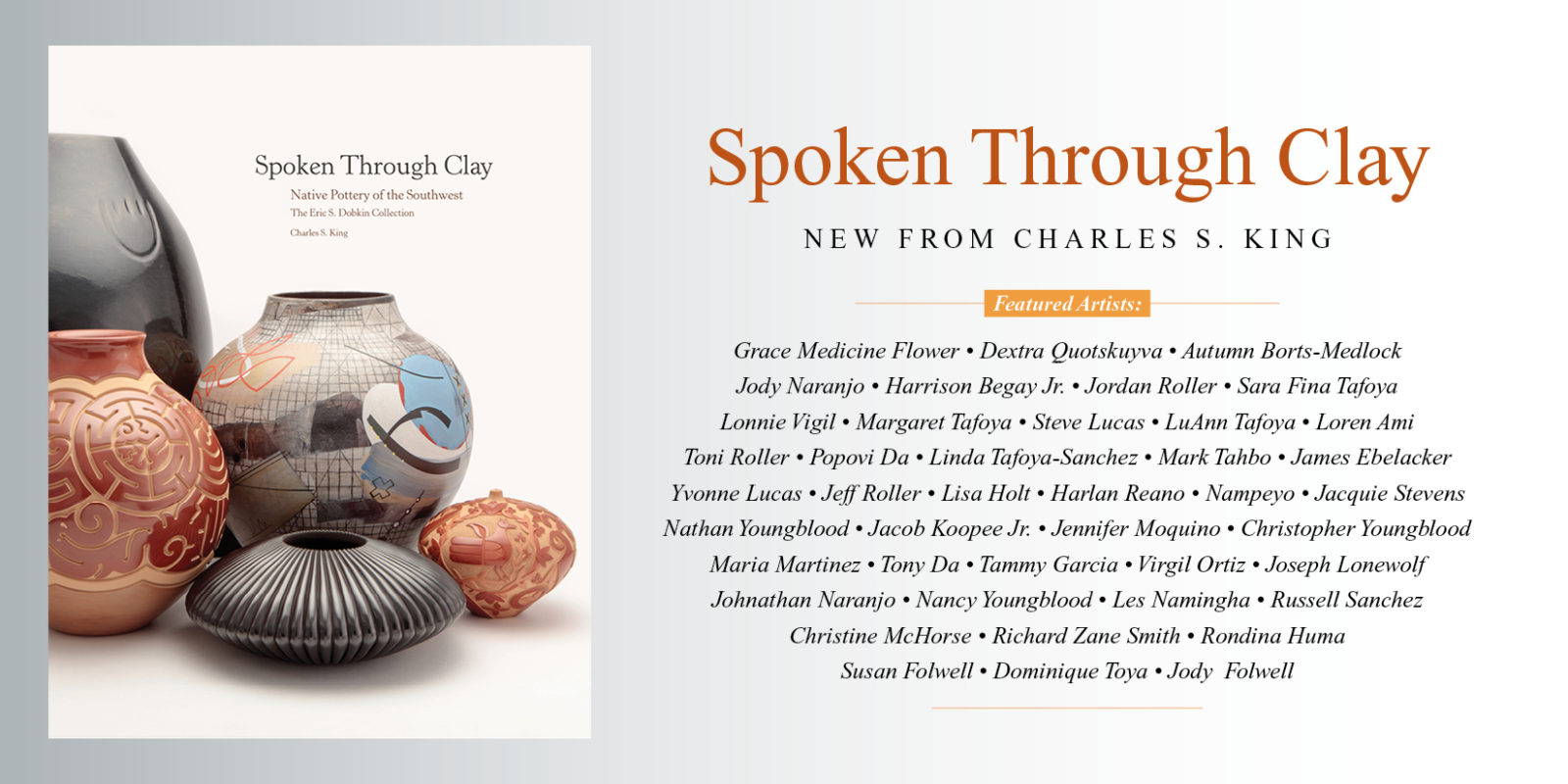 Spoken Through Clay Charles King