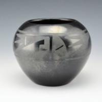 Martinez, Maria – Bowl with Prayer Feather Designs (1930's)