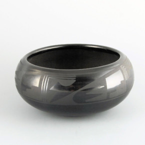 Martinez, Maria  – Bowl with Storm Pattern