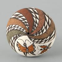 Lewis-Garcia, Diane – Seedpot with Butterflies