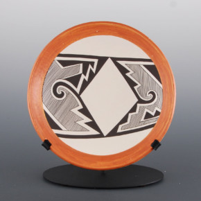 Lewis, Sharon – Plate with Rain Design