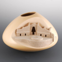 "Qoyawayma, Al – ""Uxmal: Governor's Palace"" Bowl"