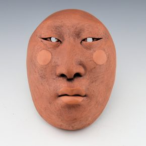 Swentzell, Roxanne – Clay Mask with Circles on Cheeks