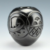 Tafoya-Sanchez, Linda – Bowl with 5 Medallion Designs