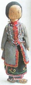 Iroquois doll c 1880s