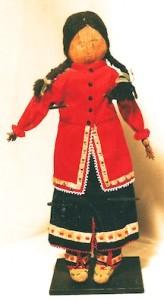 Iroquois doll c 1920