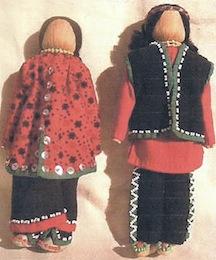 Iroquois dolls c 1890