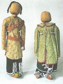Iroquois dolls c 1900