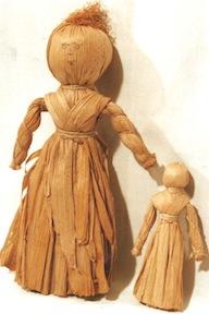 Iroquois dolls plain