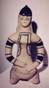 Karaja doll with bowl
