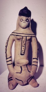 Karaja doll with olla