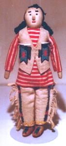 Navajo (-) doll 1
