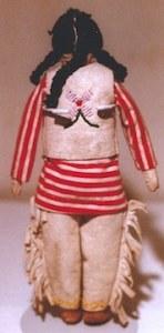 Navajo (-) doll 2