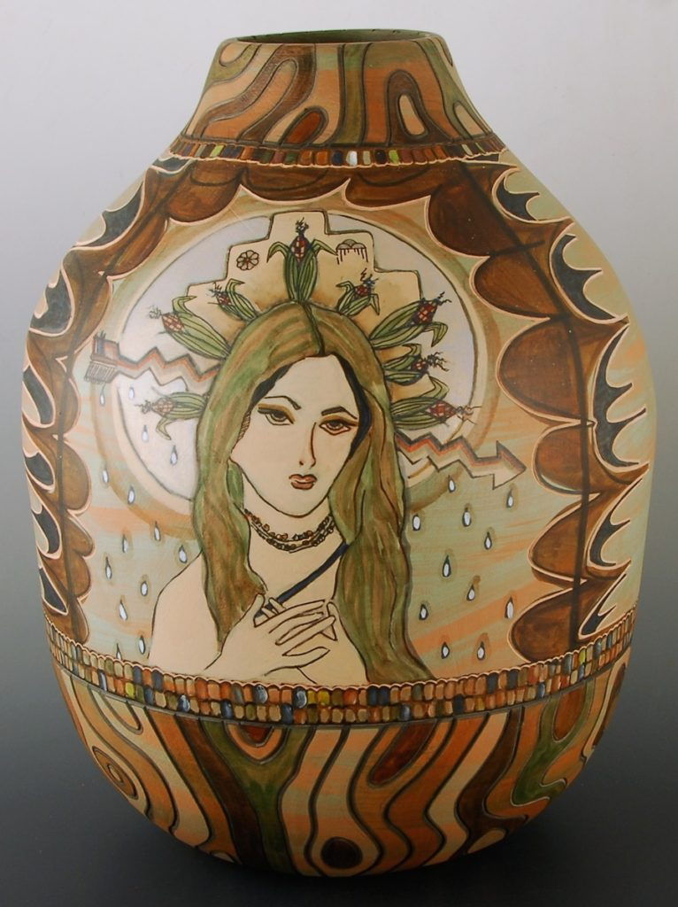 1. Corn Maiden Jar