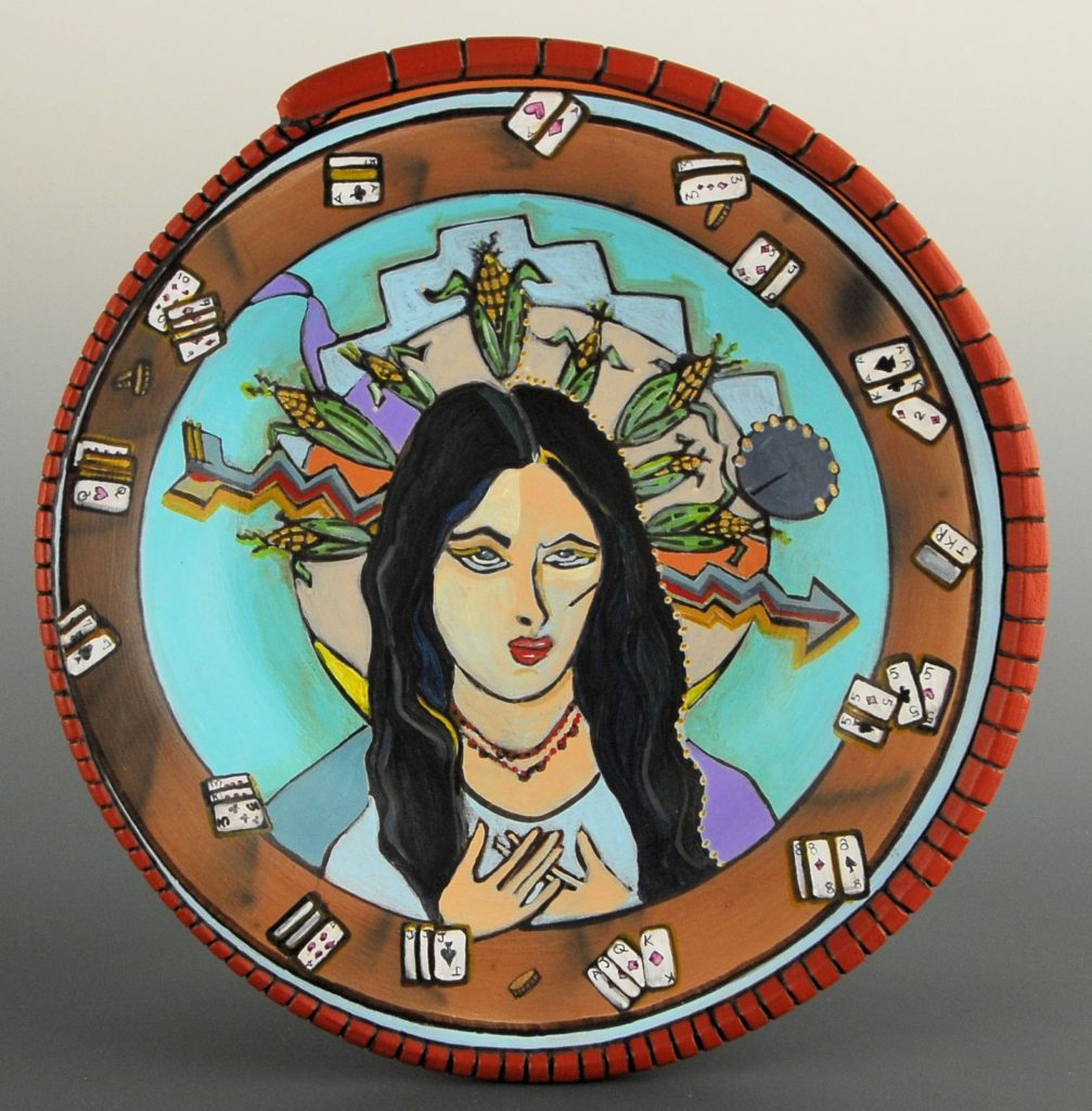 12. Casino Corn Maiden Plate
