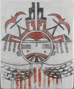 17. Namingha Corn Maiden Tile