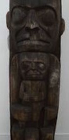 Heiltsuk House Post A