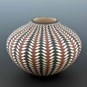 Estevan, Paula – Basket Weave Design Jar