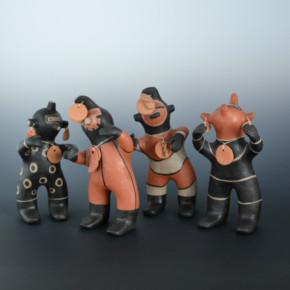 Ortiz, Inez – Four Direction Figures