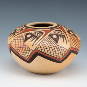 Nampeyo, Adelle L. – Bowl with Migration Pattern