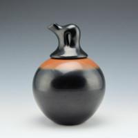Tse-Pe, Dora – Black & Sienna Bear Lid Jar
