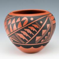 Sandia, Geraldine – Bowl with Feather Design