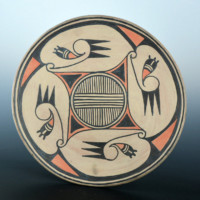 Aguilar, Joe – Star Design Polychrome Plate