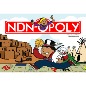"Browning, Ashley – ""NDN-opoly"" Digital Photograph"