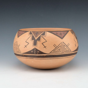 Nampeyo, Darlene James – Bowl with Thunderstorm Design