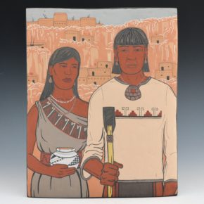 """Garcia, Jason – """"Anasazi Gothic"""" Clay Tile"""