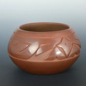 Roller, Jordan – Brown Jar with Star Design