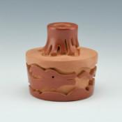 Cain, Linda – Miniature Jar with Avanyu