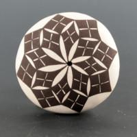 Aragon, Dolores – Mini Seedpot with Flower Design