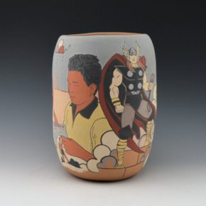 Garcia, Jason –  Pueblo Warriors Jar