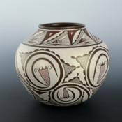 Namingha, Les – Zuni Fine-Line Jar