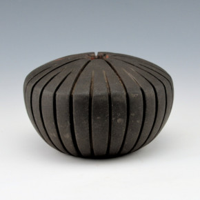 Speckled Rock, Paul – Micaceous Melon Bowl